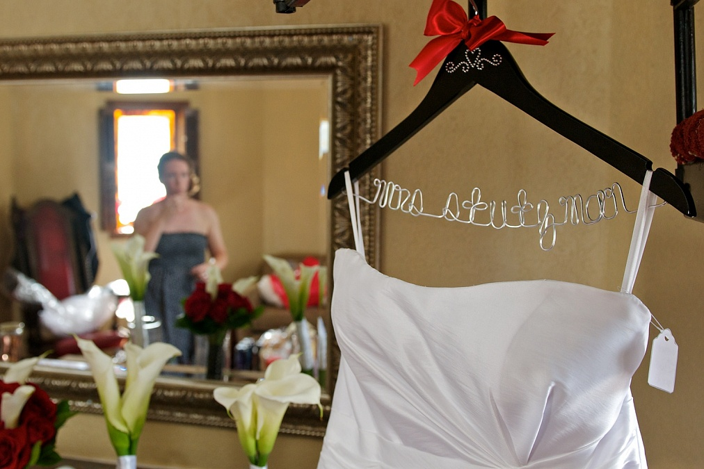 Wedding Photograhy, Coralville, Iowa. Dress, preparation for Eastern Iowa ceremony.